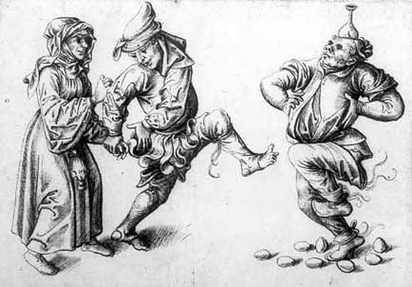 Первые упоминания о «танце сяйцами» относятся кконцу 15 века. <br>